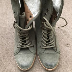 Steve Madden ankle lace boots | Size 8